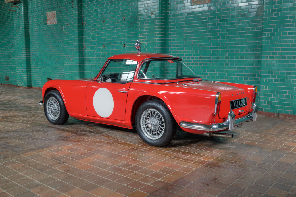 1961 Triumph TR4 ex Monte Carlo » Pendine Historic Cars