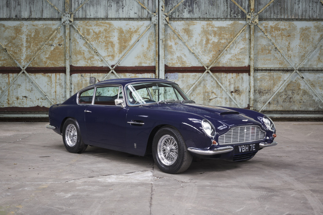 Aston Martin DB Vantage Pendine Historic Cars - Aston martin db6
