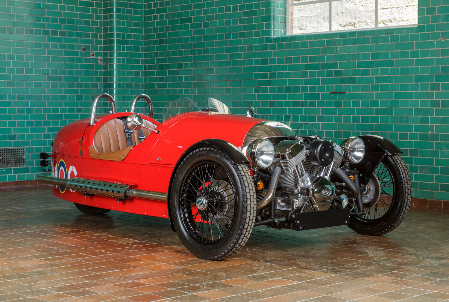 2012 morgan three wheeler pendine historic cars. Black Bedroom Furniture Sets. Home Design Ideas
