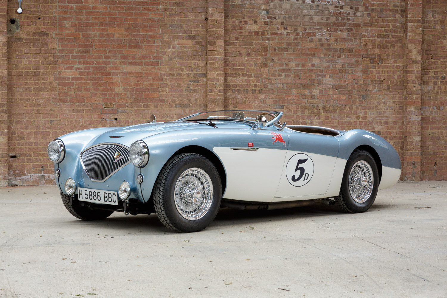 1956 austin healey 100 4 m pendine historic cars. Black Bedroom Furniture Sets. Home Design Ideas