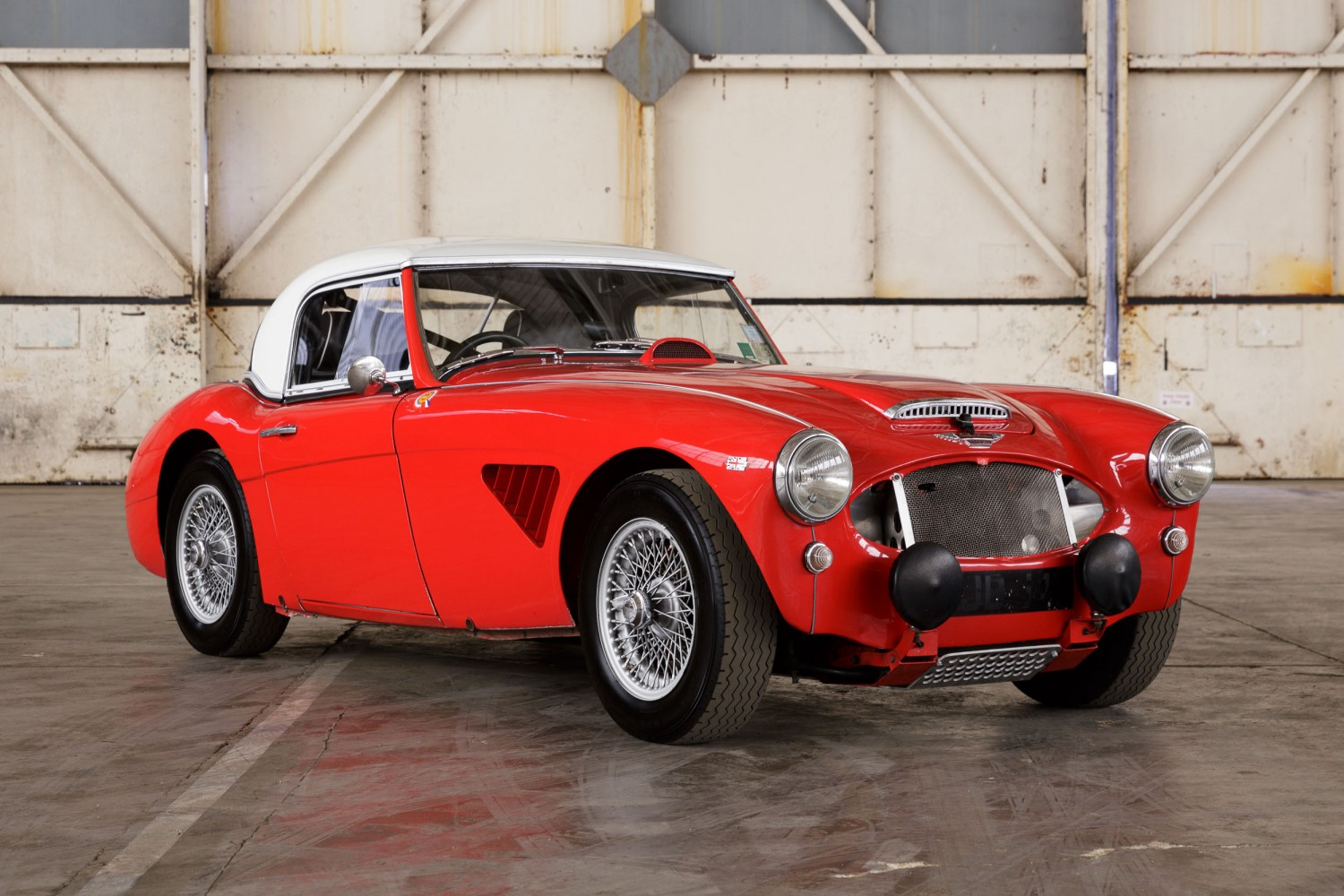 1961 Austin Healey 3000 Rally Car » Pendine Historic Cars