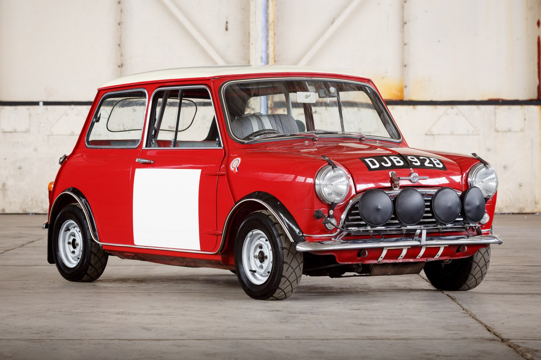 1964 BMC Mini Cooper S » Pendine Historic Cars