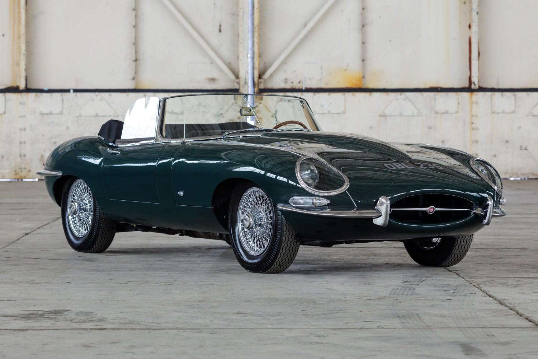 1961 Jaguar E Type An Original Outside Bonnet Lock Roadster A Rare