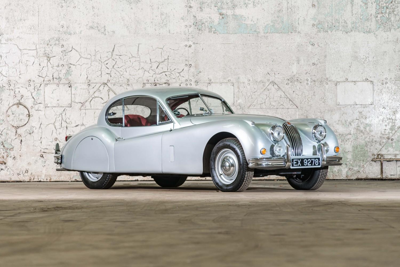 1955 Jaguar XK140 Fixed Head Coupe » Pendine Historic Cars