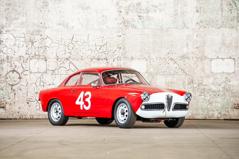 1964 Alfa Romeo Giulietta Sprint » Pendine Historic Cars