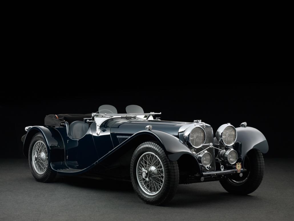 1938 Ss Jaguar 100 3 5 Litre Pendine Historic Cars
