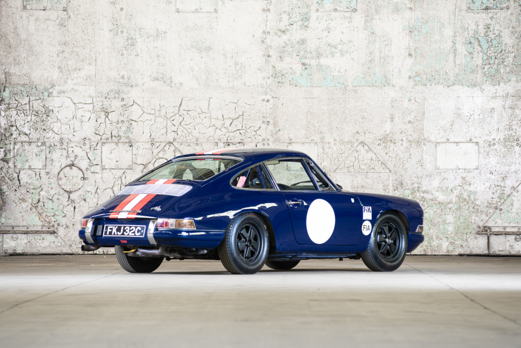1965 Porsche 911 Swb Competition Car Pendine Historic Cars